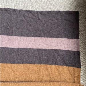 Wool HENRI BENDEL striped scarf